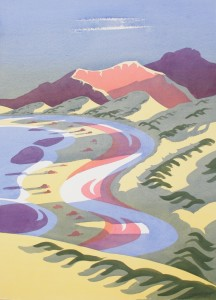 The WesternIsles 4 (Large), Original Watercolour 500 x 700mm £2,750 framed and delivered UK