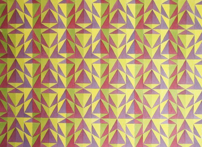 Colour Contrast 5, Original Watercolour, 50 x 60cm £1,450