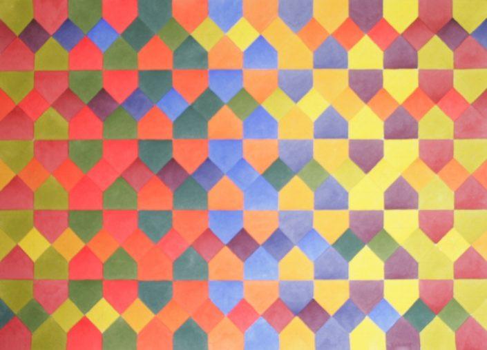 Colour Contrast 6, Original Watercolour, 50 x 60cm £1,750
