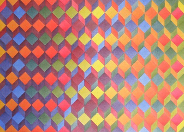 Colour Contrast 7, Original Watercolour, 50 x 60cm £1,750