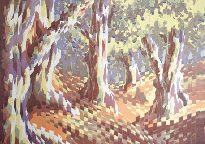 Spliced landscape 1 , Original Watercolour, 50 x 70cm £1,250