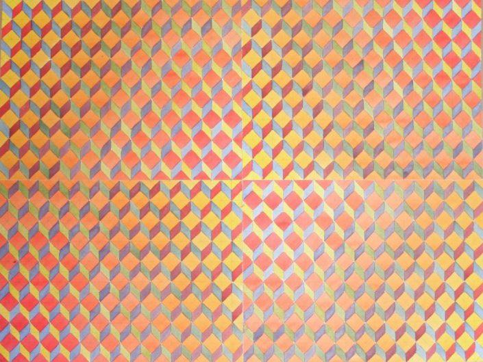 Colour Contrast 1, Original Watercolour, 1 50 x 70cm £1,750