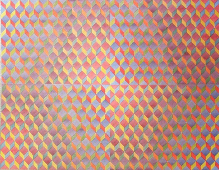 Colour Contrast 2, Original Watercolour, 50 x 70cm £1,750