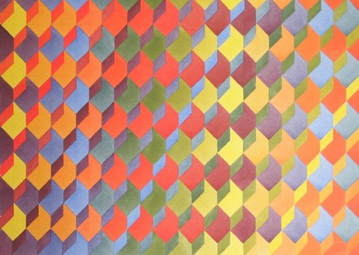 Colour Contrast 3, Original Watercolour, 50 x 70cm £1,750
