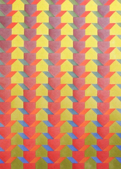 Colour Contrast 4, Original Watercolour, 50 x 60cm £1,750