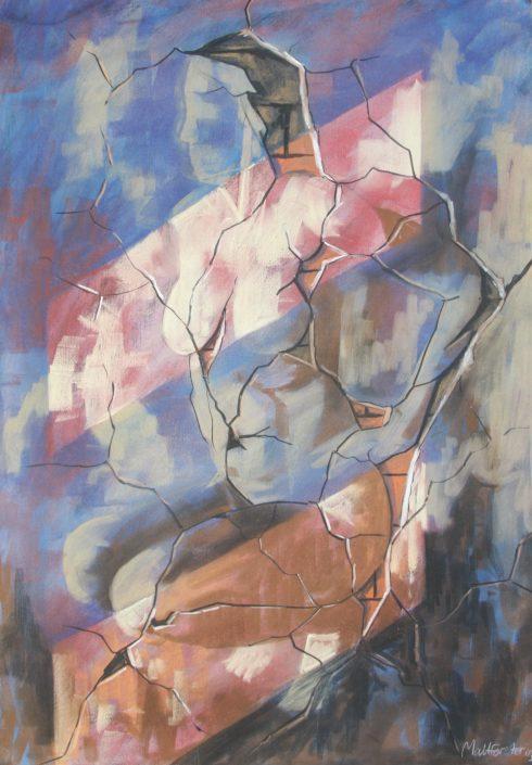 Dos Pinturas 3 55 x 75cm £3,500