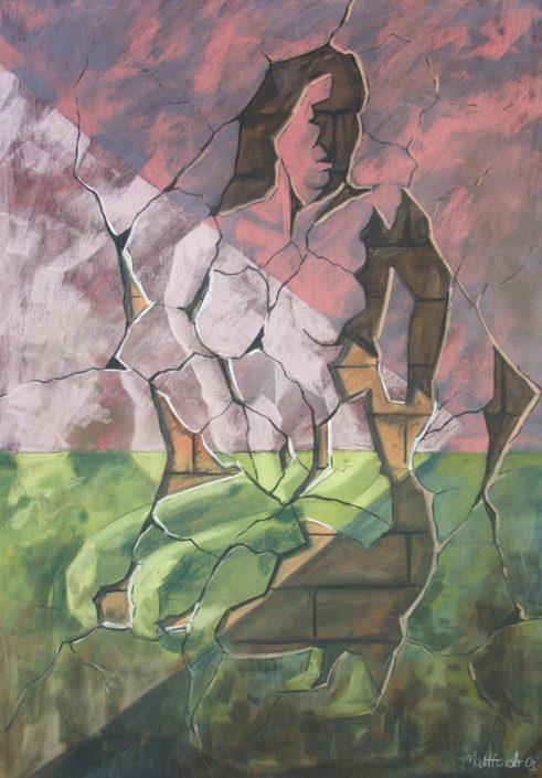 Dos Pinturas 6 55 x 75cm £3,500